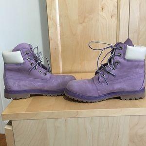 Timberland Shoes - Lilac Timberlands